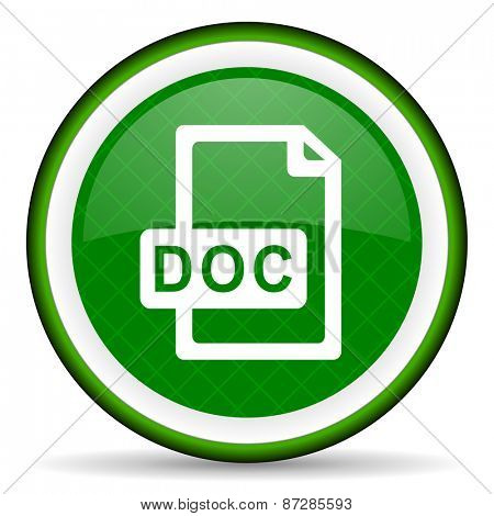 doc file green icon