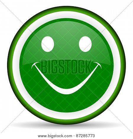 smile green icon