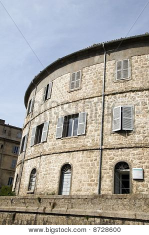 Medieval Architecture Bonifacio Corsica