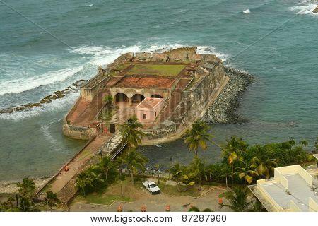 Fortin de San Geronimo de Boqueron, San Juan