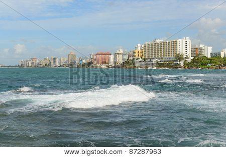Condado skyline, San Juan, Puerto Rico