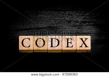 Word Equity Isolated On Black Background