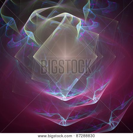 Abstract fractal background.
