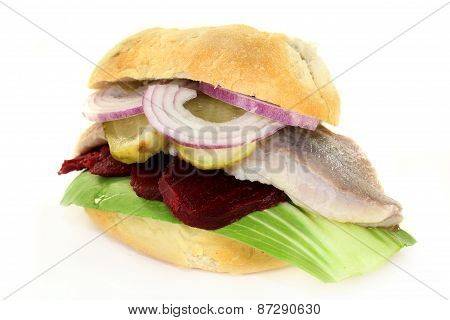 Pickled Herring Sandwiches