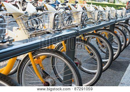 Bike's Parking