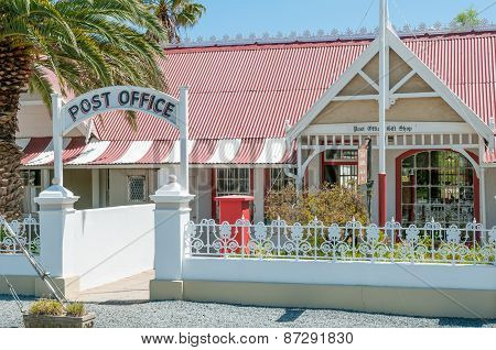 Historic Post Office Building In Matjiesfontein