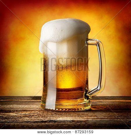Mug of lager