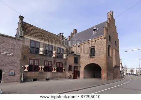 The Prison Is A Medieval Prison In The Hague.
