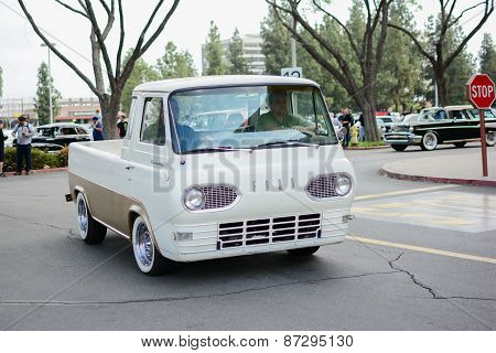 Ford Econoline Pickup Classic Car On Display