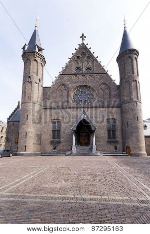 The Knights' Hall Is A Hall That Is Part Of The Grafelijke Rooms At The Binnenhof In The Hague.