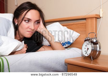Woman does not want to wake up
