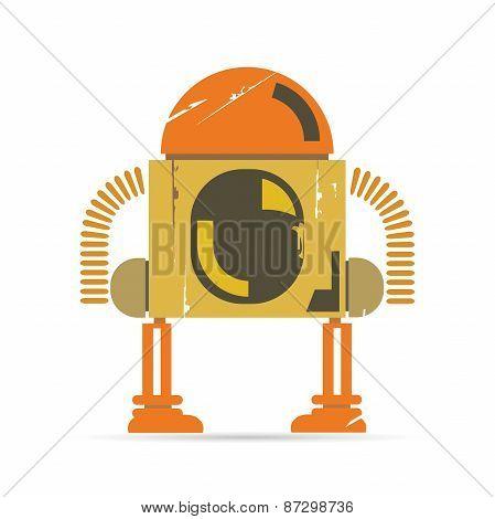 comic robot