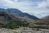 pic of jammu kashmir  - Scenic view of Himalaya range in summer Jammu and Kashmir India - JPG
