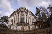 pic of manor  - The Demidovs Manor in Taitsy Leningrad region Russia - JPG