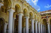 stock photo of tamil  - Tirumalai Nayak Palace in Madurai - JPG