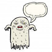 picture of grossed out  - cartoon gross ghost - JPG