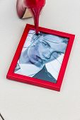image of adultery  - zerbrochner photo frames and high heels - JPG
