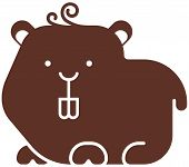 pic of gerbil  - Hamster icon  - JPG