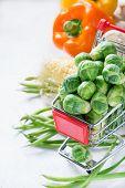foto of brussels sprouts  - Fresh vegetables - JPG