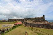 image of san juan puerto rico  - Castillo de San Cristobal - JPG