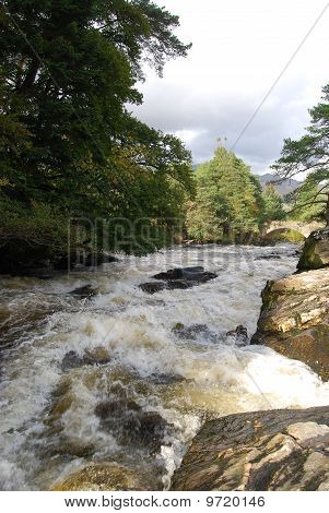 Fast Flowing Water