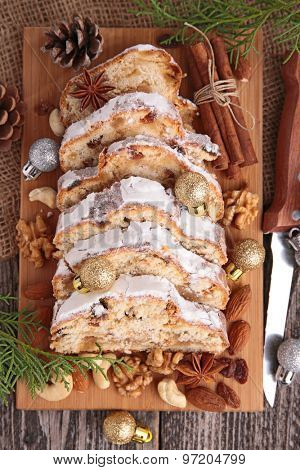 stollen bread