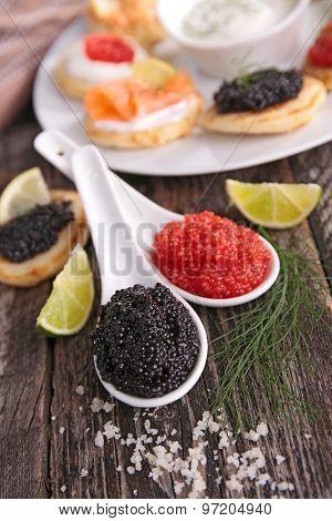 fresh caviar