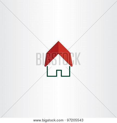 House Logo Real Estate Symbol Element