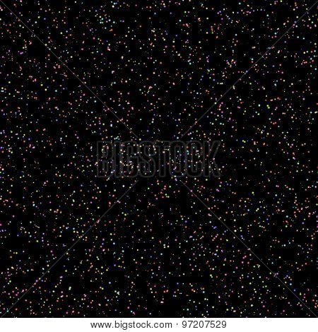 Seamless constellations background. Vector