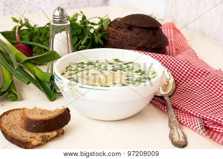 Hash - A Traditional Russian Cold Soup