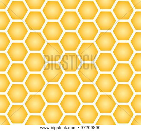 Seamless texture of honeycomb