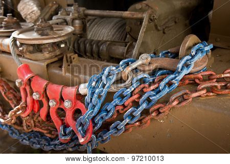 Winch Witch Chains Of Trucks