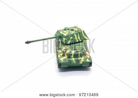 World war II tank model toy