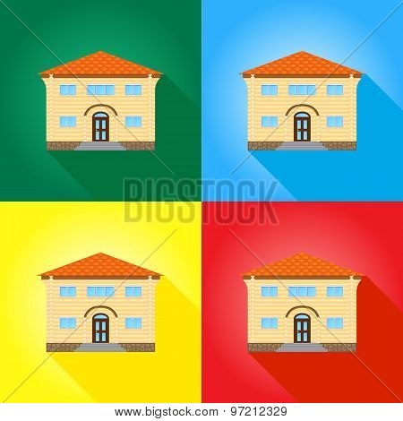 House On Colored