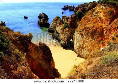 Hidden Algarve Beach