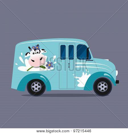 Dairy milk delivery service