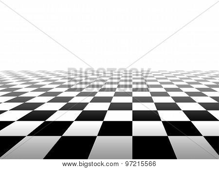 Black and white background with squares