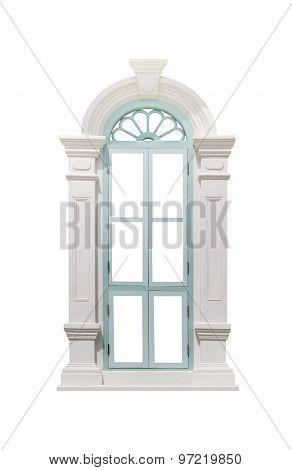 Green Classic Window Frame