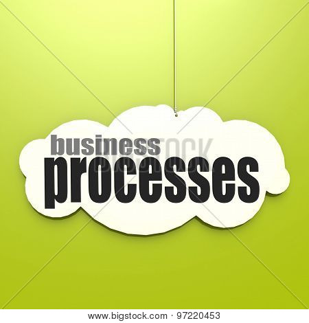 White Cloud With Business Processes