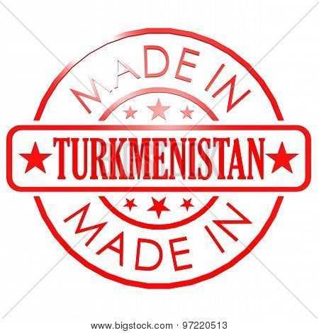 Made In Turkmenistan Red Seal