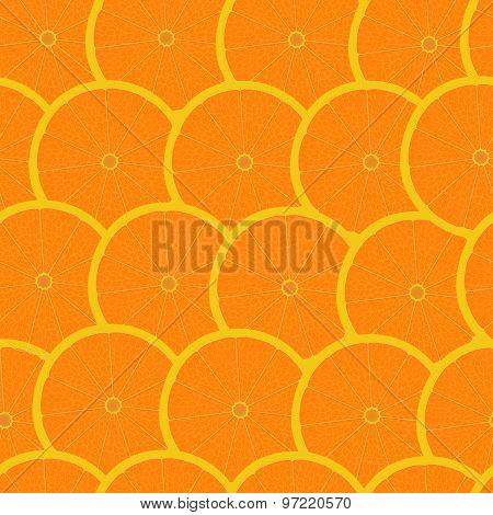 Grapefruit Seamless Background Wallpaper
