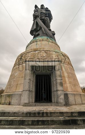 Soviet War Memorial In Treptower Park, Berlin, Germany Panorama