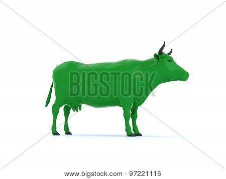 Green Cow For Bio Milk