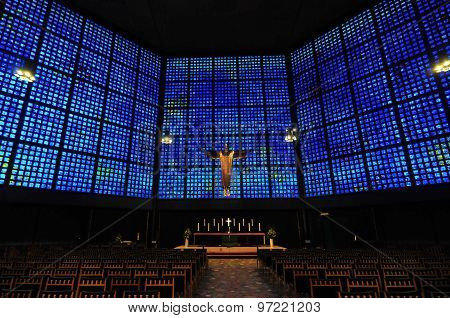 Kaiser Wilhelm Memorial Church Interior