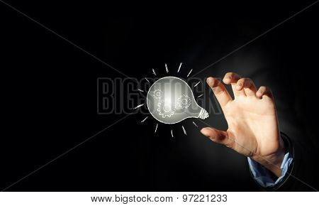 Concept of idea or creativity