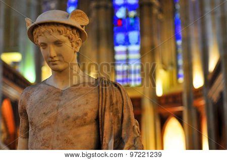 Statue Of Hermes/Mercury