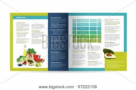 Food Brochure Design.