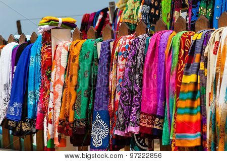 Silk pareos for sell. Sri Lanka.