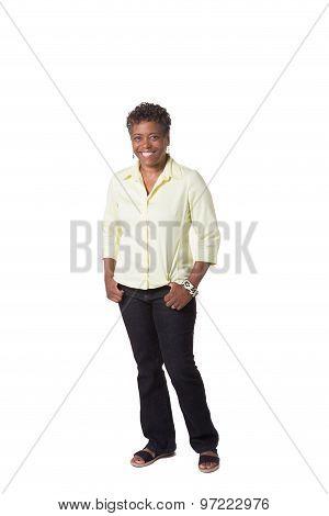 Portrait of an older woman