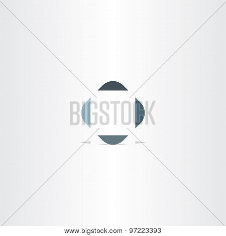 Target Point Square Abstract Logo Design